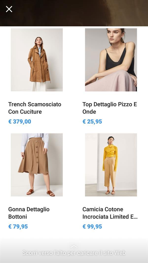 Instagram e shopping online