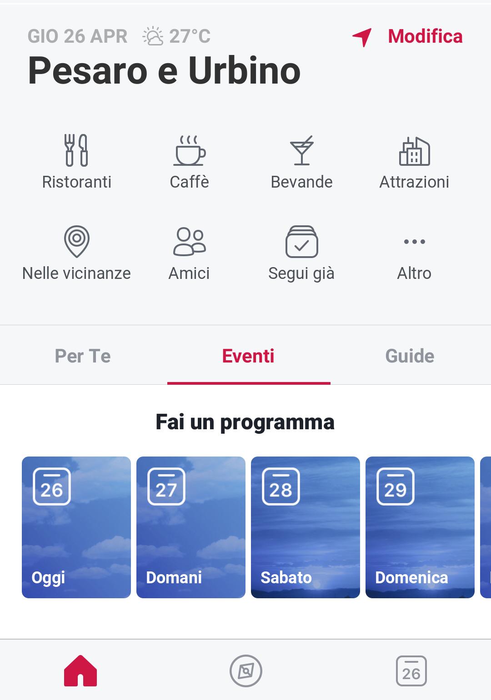 Facebook local - app eventi